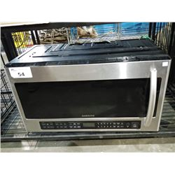 SAMSUNG STAINLESS STEEL MICROWAVE OVEN