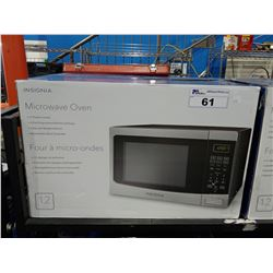 INSIGNIA MICROWAVE OVEN, 1.2 CUBIC FEET