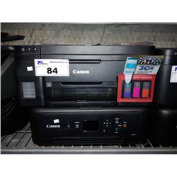 PAIR OF CANON PIXMA WIRELESS ALL-IN-ONE PRINTERS (G4210 & TS5120)