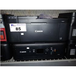 PAIR OF CANON PIXMA WIRELESS ALL-IN-ONE PRINTERS (TR4527 & TS5120)
