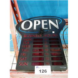 NEWON LED OPEN SIGN