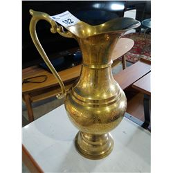 GOLD COLOURED PITCHER