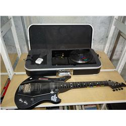 DJ HERO KIT WITH CASE AND POWER GIG 6-STRING GAMING GUITAR