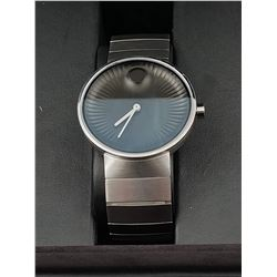 MOVADO EDGE SWISS MADE SAPPHIRE CRYSTAL WRIST WATCH IN BOX (WATER RESISTANT)