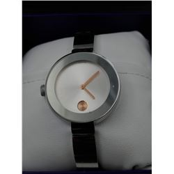MOVADO BOLD SWISS MADE WRIST WATCH IN BOX (WATER RESISTANT)
