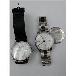 PAIR OF MOVADO WRIST WATCHES - REPAIR NEEDED