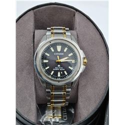 CITIZEN ECO-DRIVE DIVER'S WRIST WATCH IN BOX (WATER RESISTANT 200M)