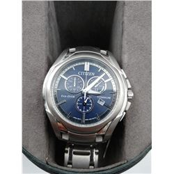CITIZEN ECO-DRIVE TITANIUM WRIST WATCH IN BOX (WATER RESISTANT 10BAR)