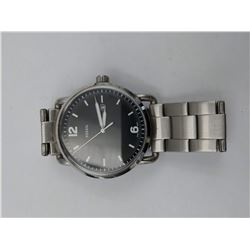 STAINLESS STEEL FOSSIL WRIST WATCH (WATER RESISTANT 5 ATM)
