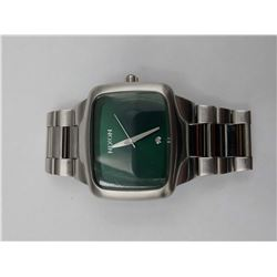 "STAINLESS STEEL NIXON ""THE BIG PLAYER"" WRIST WATCH (WATER RESISTANT 100M)"