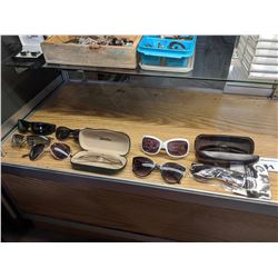 9 ASSORTED SUNGLASSES
