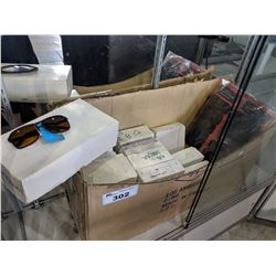 LARGE LOT OF ASSORTED SUNGLASSES IN BOXES