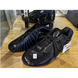 PAIR OF ADIDAS BASKETBALL SHOES, SIZE 10