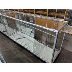 6' LONG GLASS DISPLAY CASE
