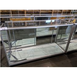 5' LONG GLASS DISPLAY CASE