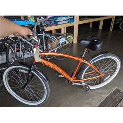 METALLIC ORANGE ROAD BIKE