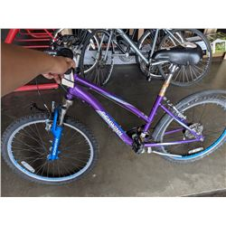 PURPLE SCHWINN SUSPEND 21 SPEED MOUNTAIN BIKE