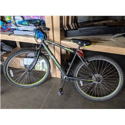 BLACK OZARK TRAIL EVOLUTION 18 SPEED MOUNTAIN BIKE