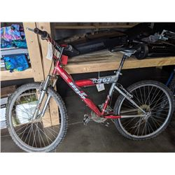 RED DUNLOP FS767 21 SPEED MOUNTAIN BIKE