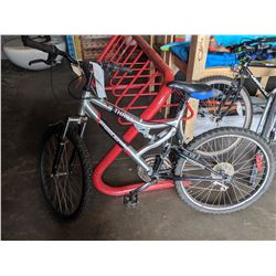 SILVER SUPERCYCLE THRILL 21 SPEED MOUNTAIN BIKE