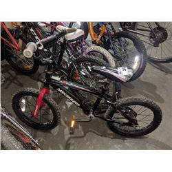BLACK NAKAMURA CROSSFIRE CHILD'S BIKE