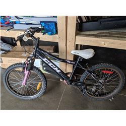 BLACK CCM FS2.0 6 SPEED CHILD'S BIKE