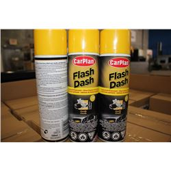 ONE CASE OF 6 FLASH DASH FRAGRANCED PROTECTANT