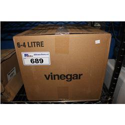 BOX OF 6 ALLEN'S PURE WHITE VINEGAR 4L