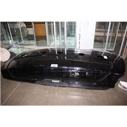 BLACK THULE CAR TOP CARRIER