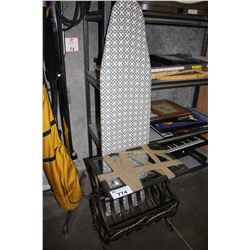 SIDE TABLE AND IRONING BOARD