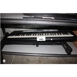 YAMAHA KEYBOARD WITH STAND