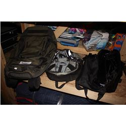 LARGE ROLLING BACKPACK, BACKPACK AND BAG