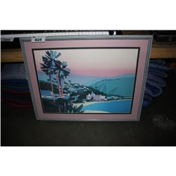 2 FRAMED PRINTS