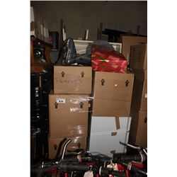 PALLET OF STORAGE LOCKER GOODS