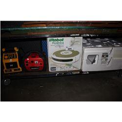 CAT JOBSITE RADIO, POWER STATION, ROOMBA AND CAT GENIE LITTER BOX