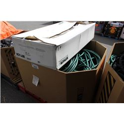 PALLET OF ASSORTED HOSE AND MORE