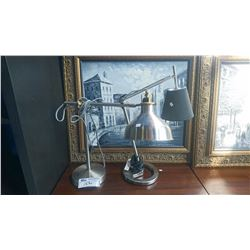 PAIR OF DESK LAMPS