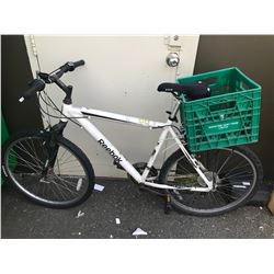 WHITE REEBOK MOUNTAIN BIKE