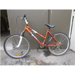 ORANGE/REDISH SUPERCYCLE MOUNTAIN BIKE