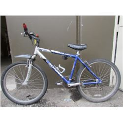 GREY/BLUE SCHWINN COMFORT MOUNTAIN BIKE