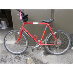 RED BIKE (MODEL UNKNOWN)