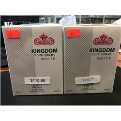 2  X 100ML INSPIRED BY KINGDOM WHITE COLOGNE FOR MEN