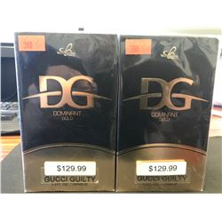 2  X 100ML INSPIRED BY DOMINANT GOLD GUCCI GUILTY COLOGNE FOR MEN
