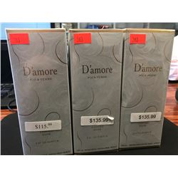 3  X 100ML INSPIRED BY D'AMORE JADORE DIOR PERFUME FOR WOMEN