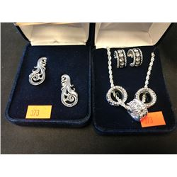 2 MONTANA SILVERSMITHS JEWELRY SETS