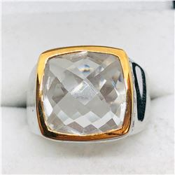 BRASS CRYSTAL (5.7CT)  MEN'S RING