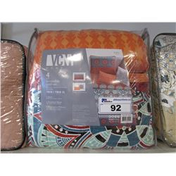 VCNY HOME TWIN/TWIN XL REVERSIBLE QUILT SET
