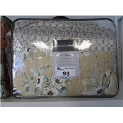 MADISON PARK KING COVERLET SET