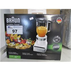 BRAUN 1000W PUREMIX POWER BLENDER