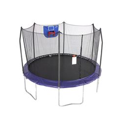SKYWALKER 15' JUMP 'N DUNK TRAMPOLINE WITH BASKETBALL HOOP